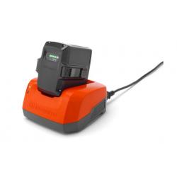 Chargeur batterie husqvarna QC330