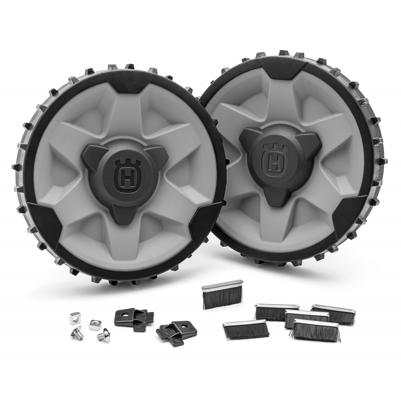 kit roues terrain difficile pour automower husqvarna. Black Bedroom Furniture Sets. Home Design Ideas